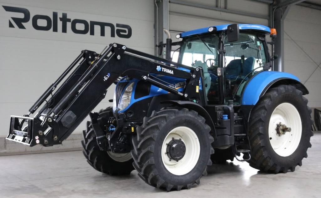 New Holland T 7.210 AC, Traktory, Maszyny rolnicze