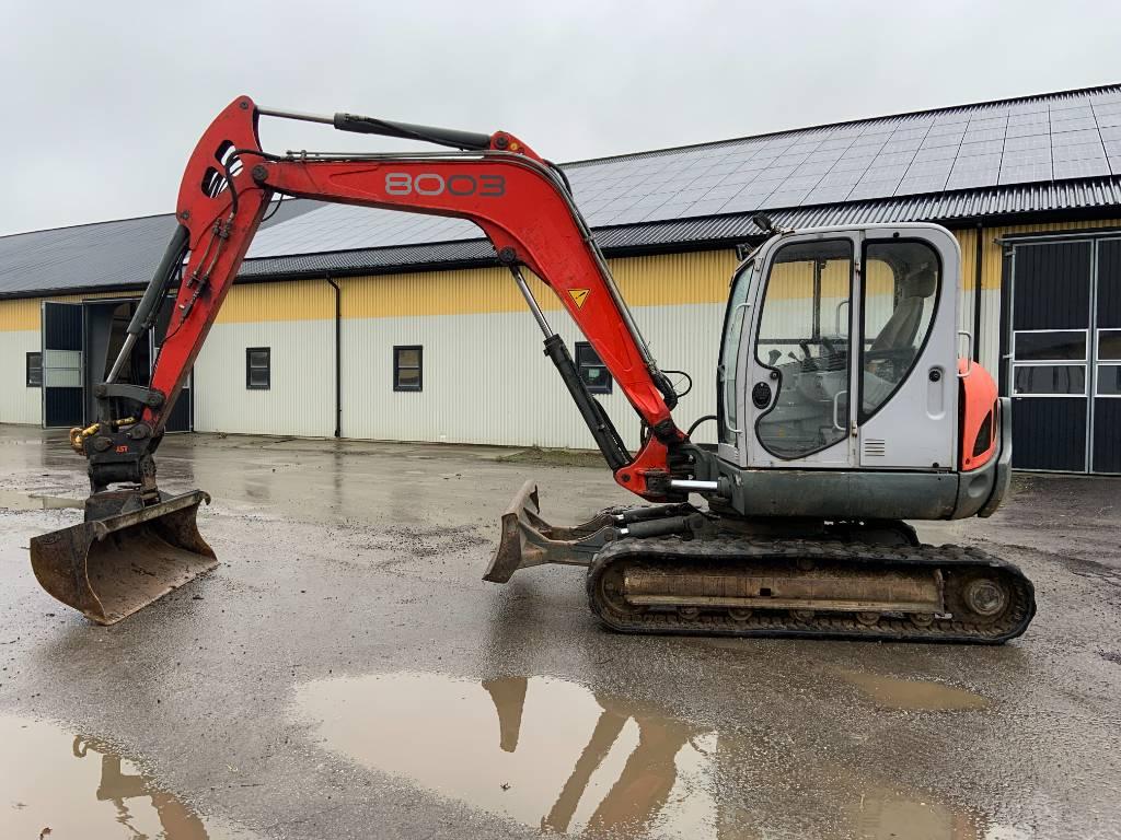 Neuson 8003 RD grävmaskin med powertilt, Midigrävmaskiner 7t - 12t, Entreprenad
