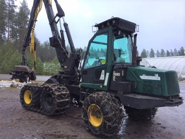 Nokka Profi 6WD, Harvesterit, Metsäkoneet