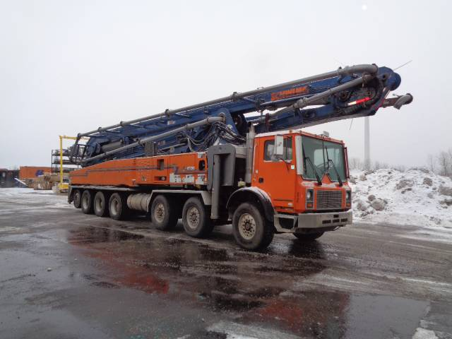 Schwing 2525H-6 / 61 SX, Boom Pumps, Construction Equipment