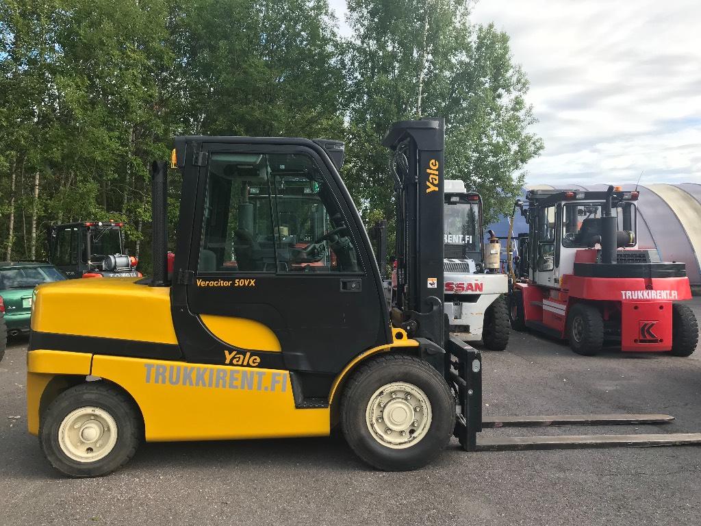 Yale GDP50VX, Dieseltrukit, Materiaalinkäsittely