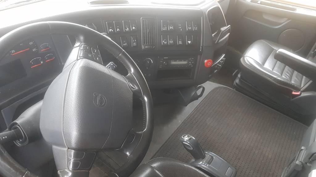 Volvo F 540 8x4, Sora- ja kippiautot, Kuljetuskalusto
