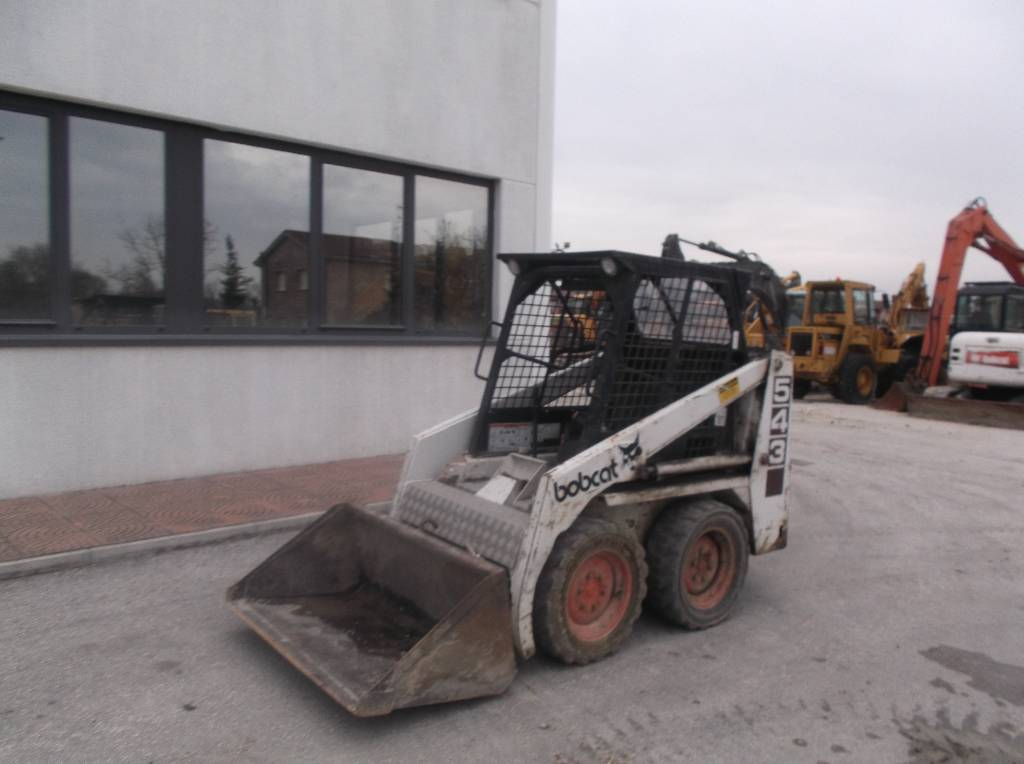 Bobcat 543, Skid steer loaders, Construction