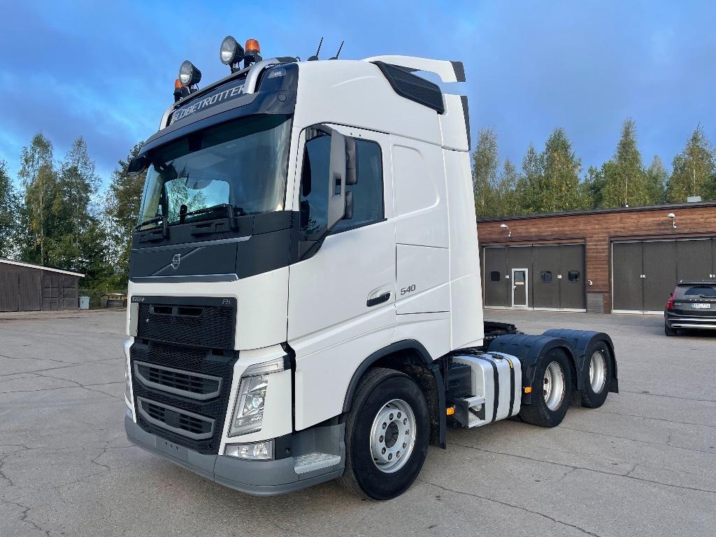 Volvo FH540 6x4 katkeava veto/nouseva teli, Vetopöytäautot, Kuljetuskalusto