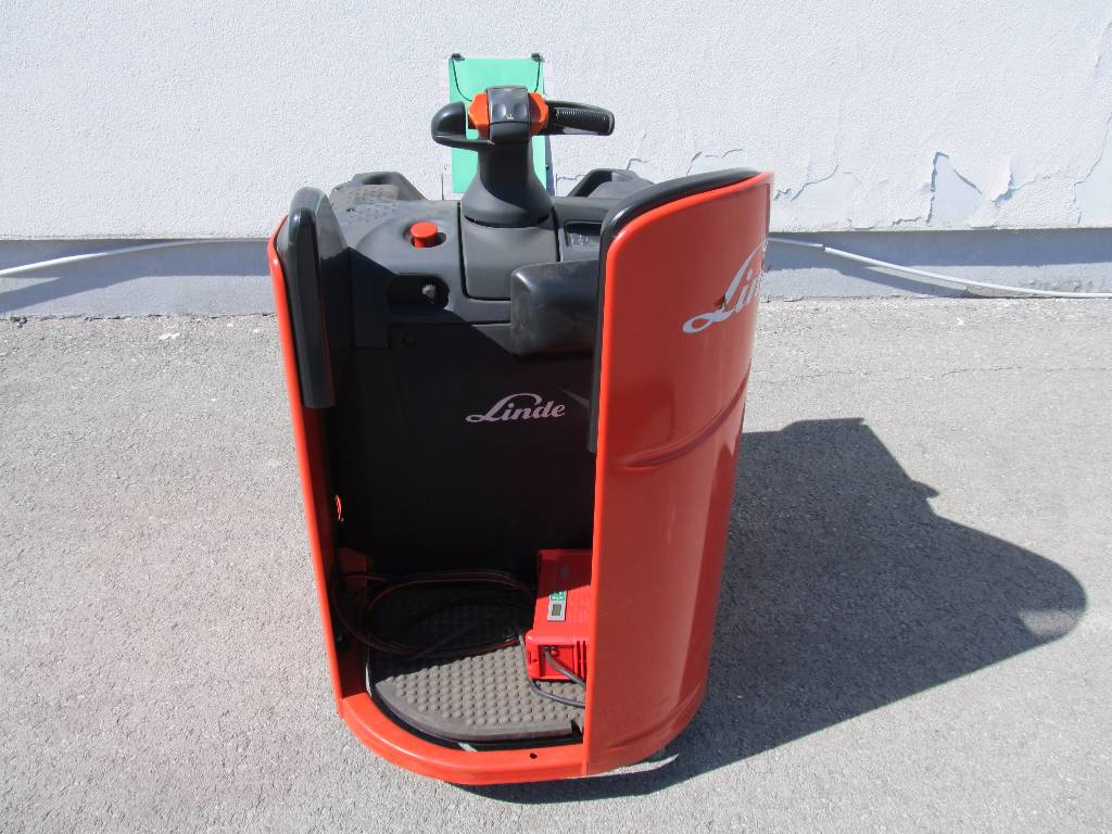 Linde T20SP/131, Low lifter with platform, Material Handling