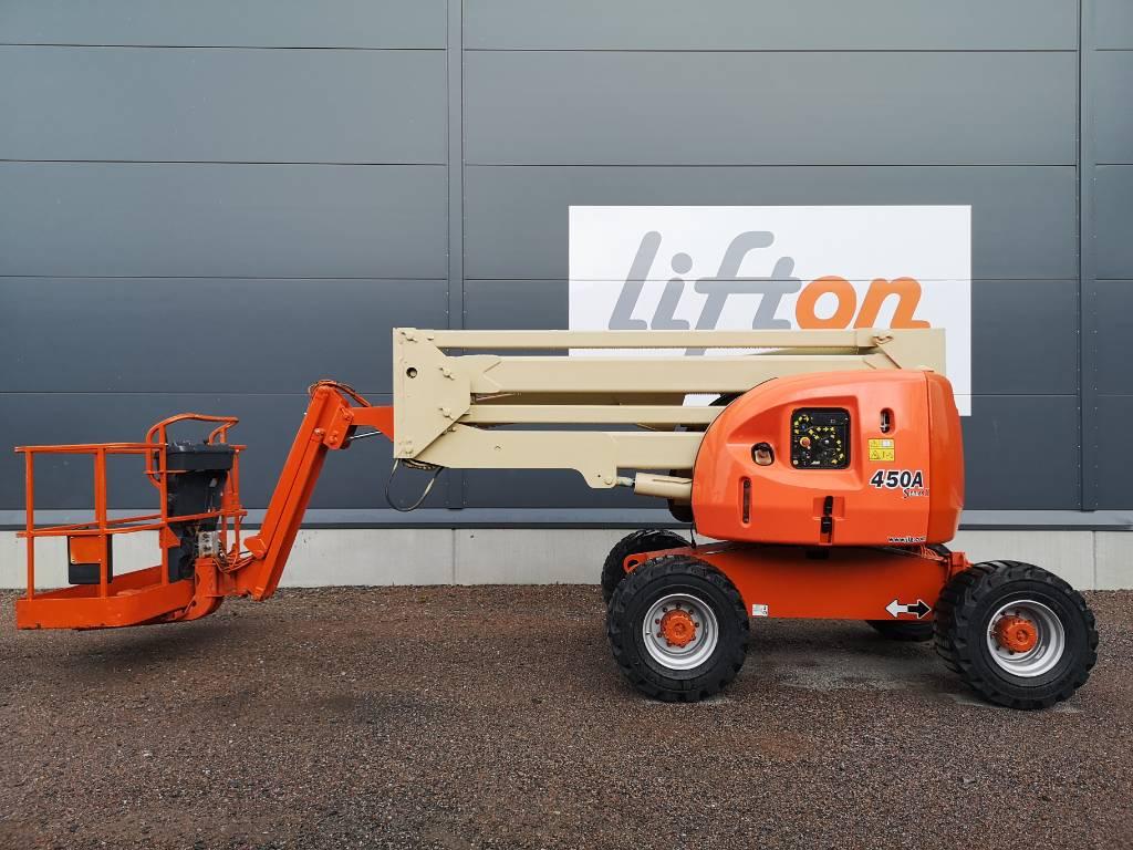 JLG 450 AJ II, Bomliftar, Entreprenad