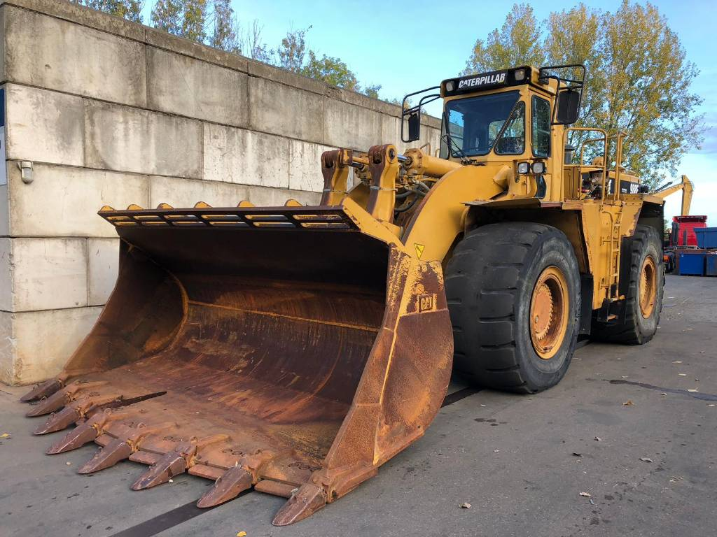 Caterpillar 988 F II BLOCK HANDLER, Wheel loaders, Construction