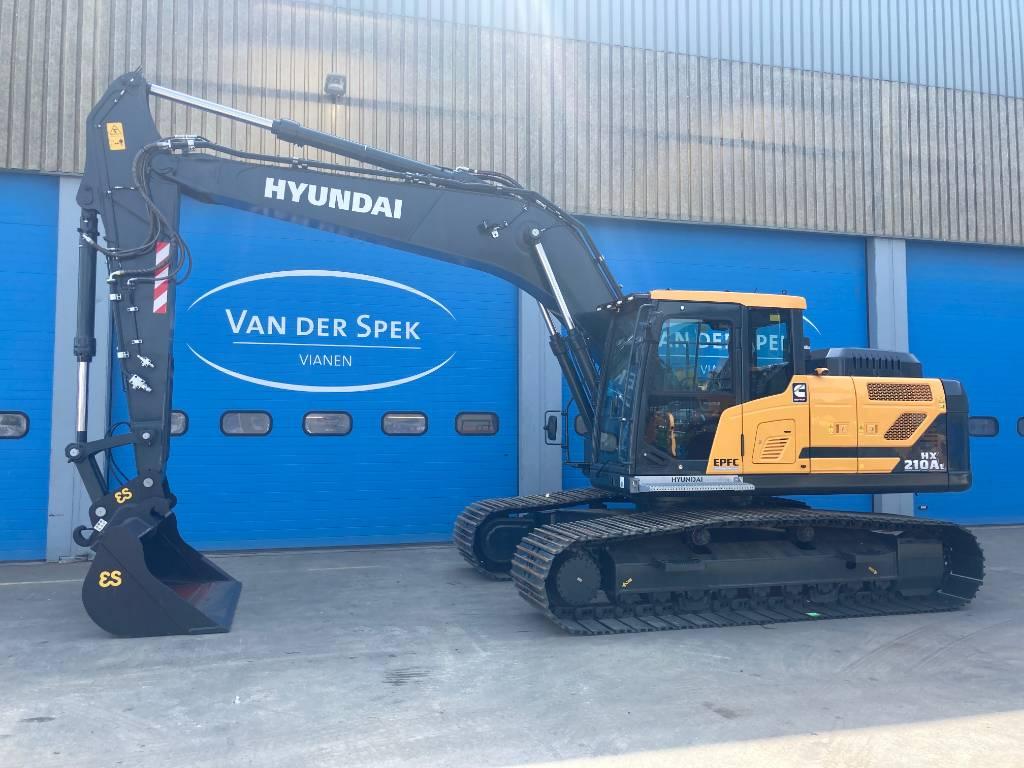 Hyundai HX210AL, Rupsgraafmachines, Bouw
