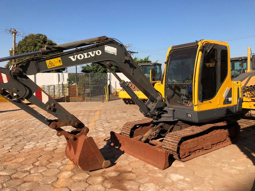 Volvo EC 55 B Pro, Compact Excavators, Construction Equipment