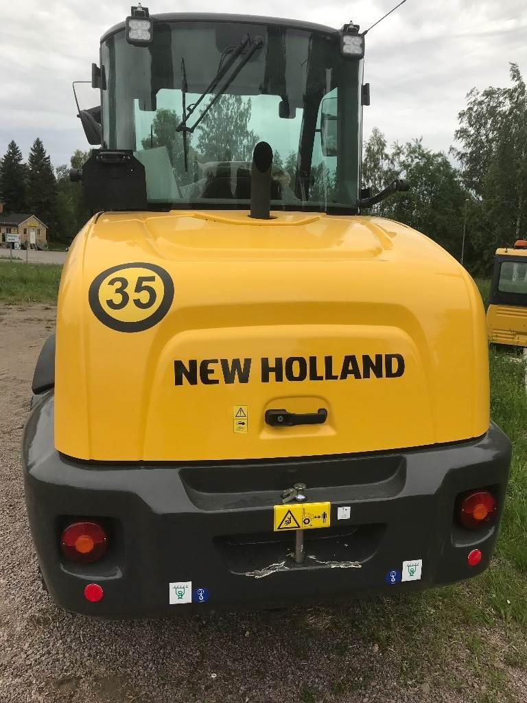 New Holland W80 C, Hjullastare, Entreprenad