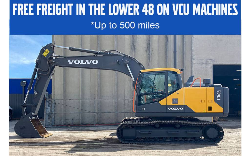 Volvo EC160EL, Crawler Excavators, Construction Equipment