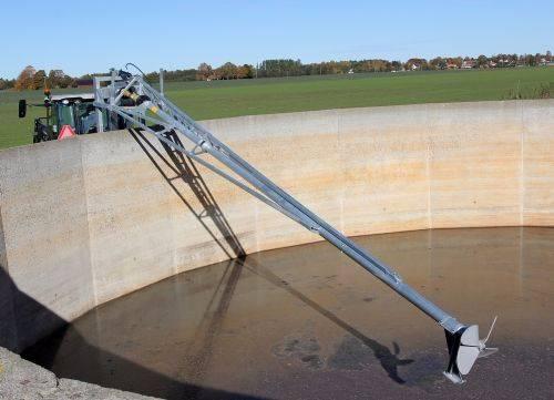 Hill propellomrører 5 - 7 og 9 meter, Pumper og røreverk, Landbruk