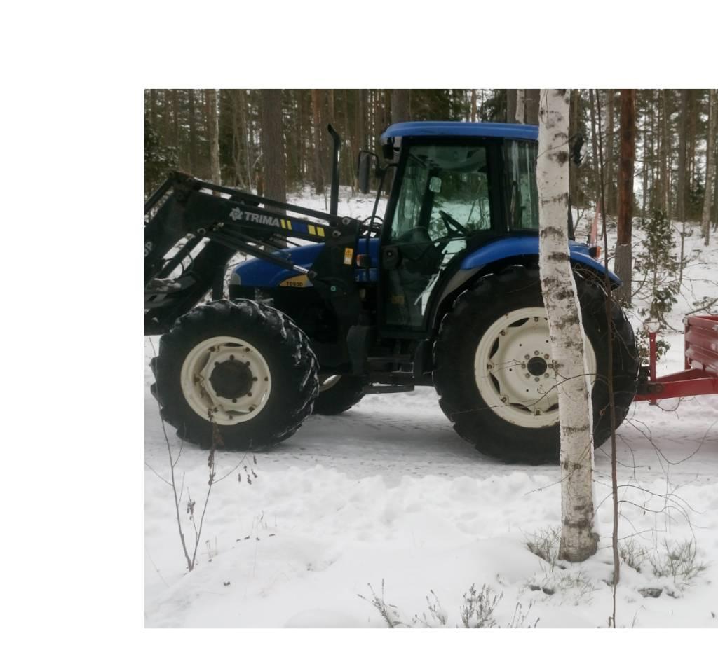 New Holland TD 90 D, Traktorit, Maatalous