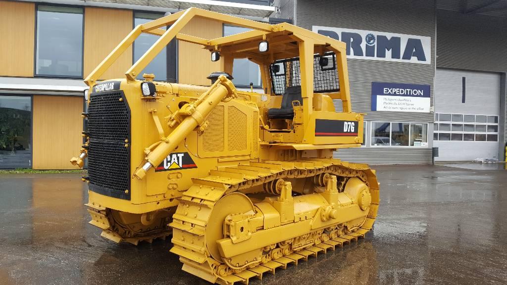 Caterpillar D 7 G, Dozers, Construction Equipment