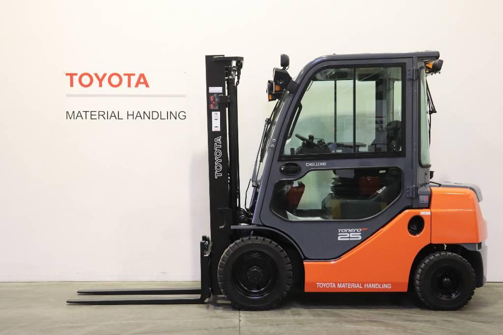 Toyota 06-8FD25F, Diesel trucks, Material Handling