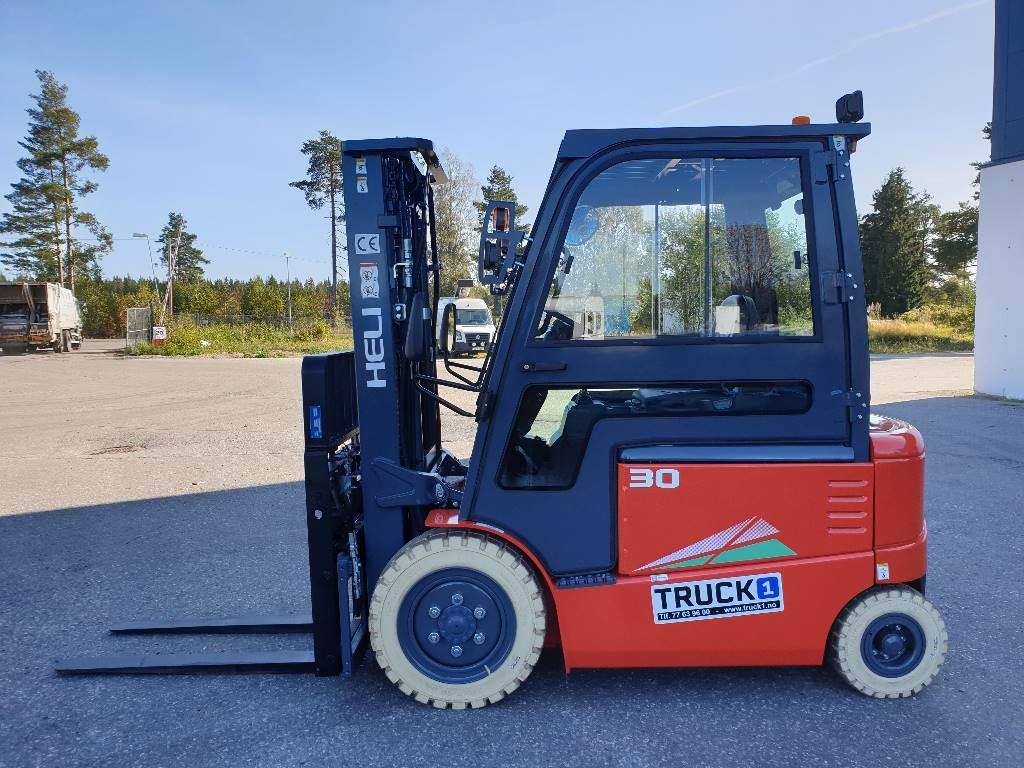 Heli CPD30-GD2 - 3,0 t el. truck - 4,7 m LH (PÅ LAGER), Elektriske trucker, Truck