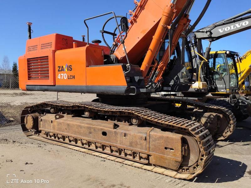 Hitachi ZX470LCH, Crawler Excavators, Construction Equipment