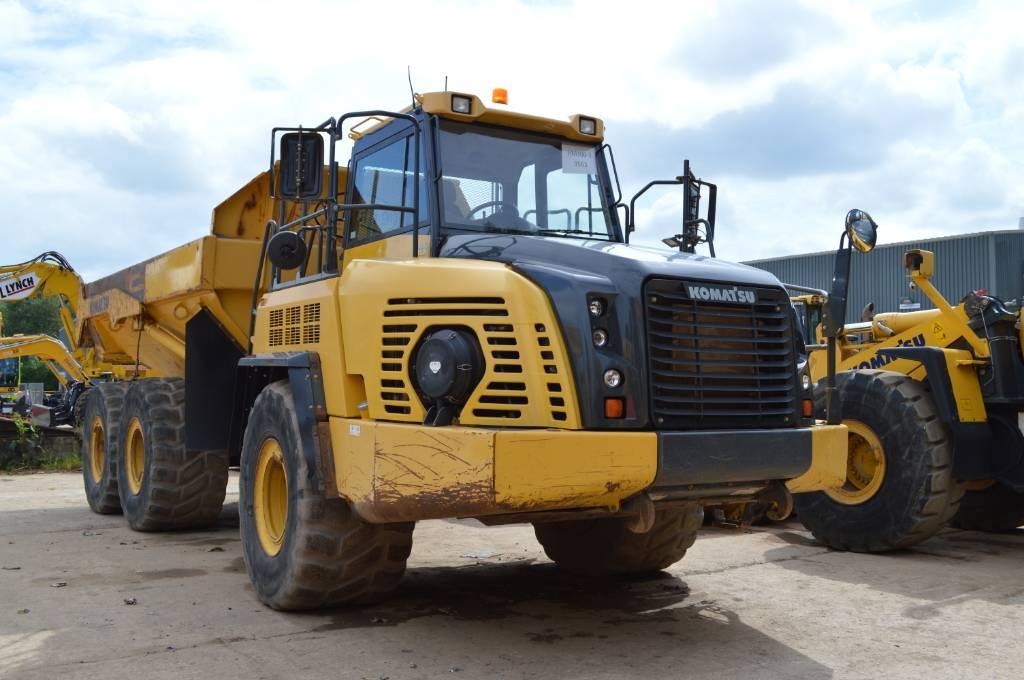 Komatsu HM300-3, Articulated Dump Trucks (ADTs), Construction