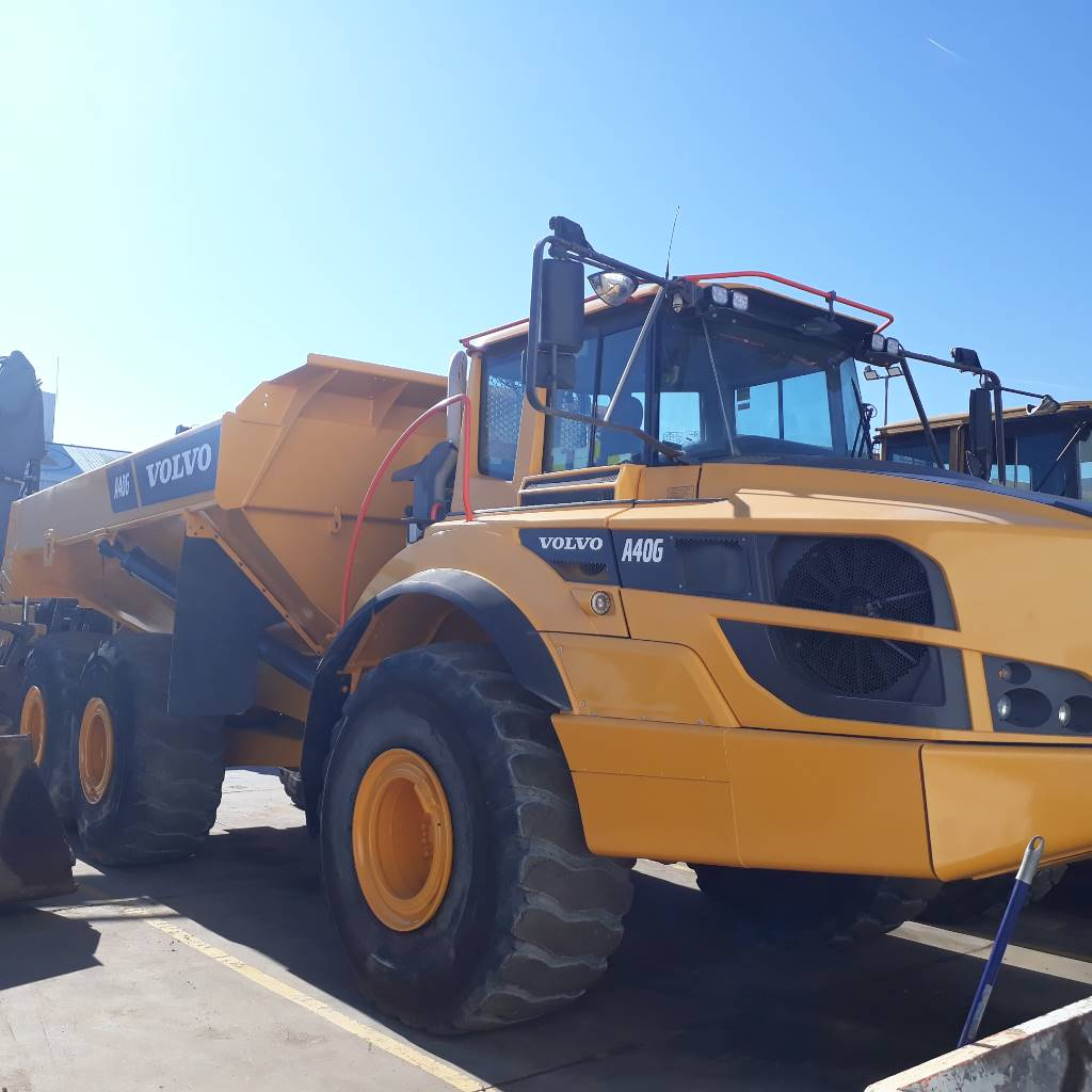 Volvo A 40 G, Articulated Dump Trucks (ADTs), Construction Equipment