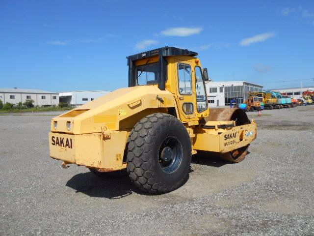 Sakai SV512DV, Other rollers, Construction