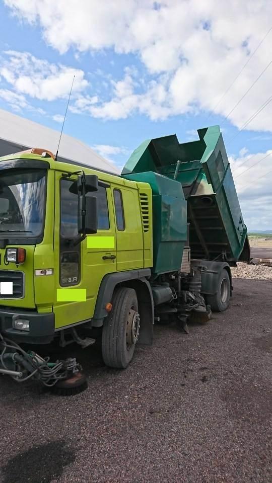 [Other] Makro vacuum sugare byggd på Volvo 618 4x2, Sopbilar, Transportfordon