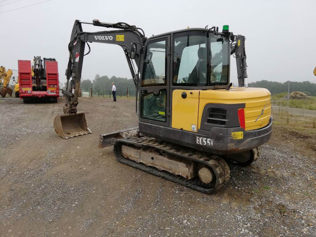 Volvo EC 55 C, Mini Excavators <7t (Mini Diggers), Construction Equipment
