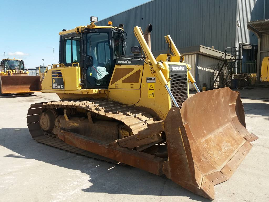 Komatsu D65WX-16, Crawler dozers, Construction Equipment