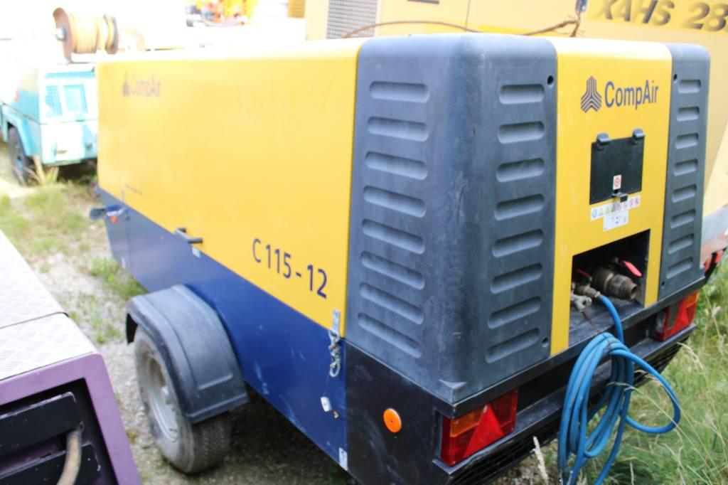 Compair C115-12, Kompressoren, Baumaschinen