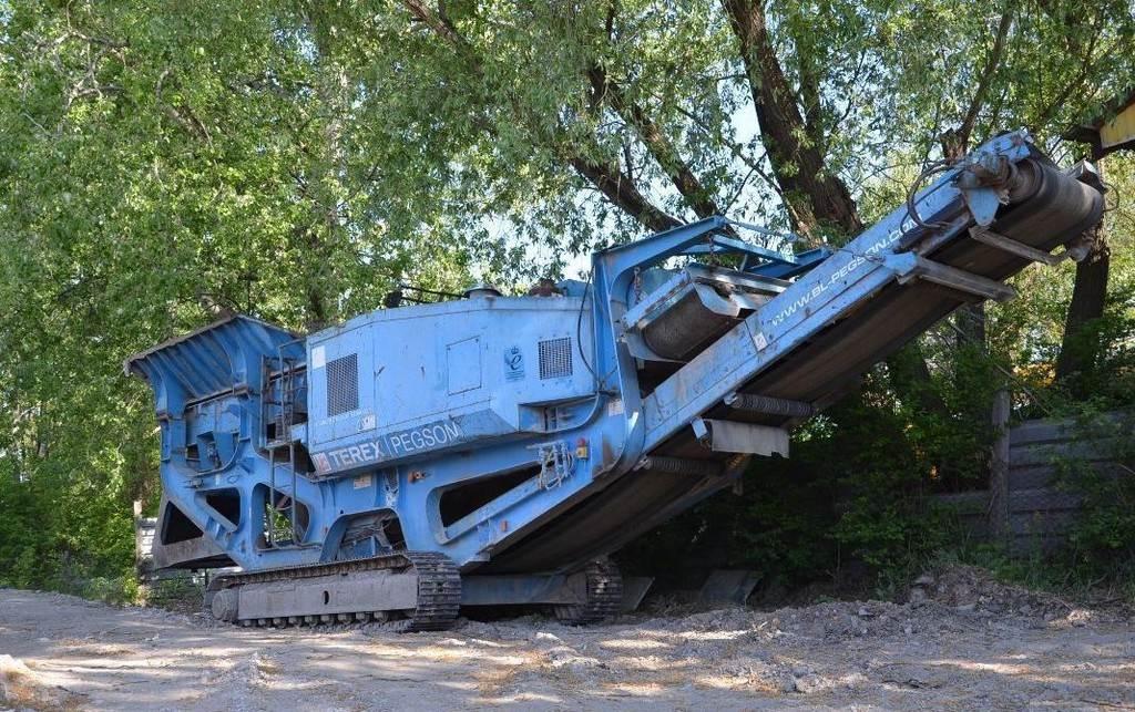 Terex Pegson Premiertrack 1165, Kruszarki, Maszyny budowlane