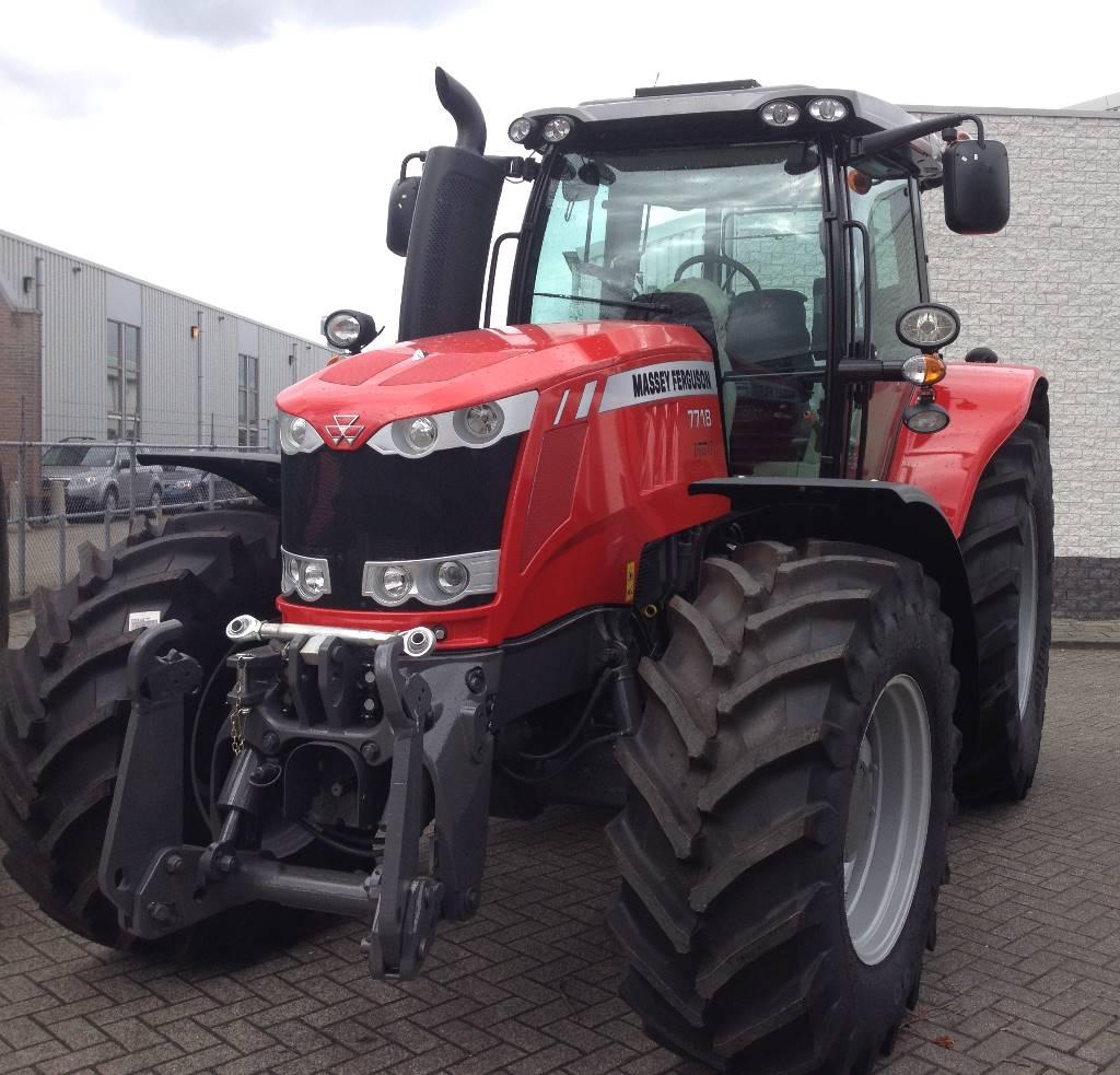 Massey Ferguson 7718 Dyna-VT Exclusive, Tractoren, Landbouw