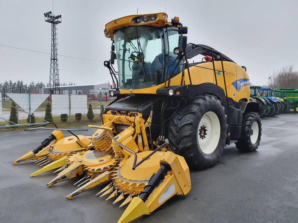 New Holland FR 600, Iseliikuvad silokombainid, Põllumajandus