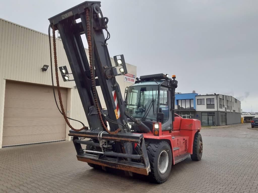 Kalmar DCG 150-12, Dieseltrukit, Materiaalinkäsittely