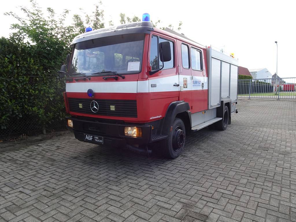Mercedes-Benz 1117  Kronenburg, Fire trucks, Transportation