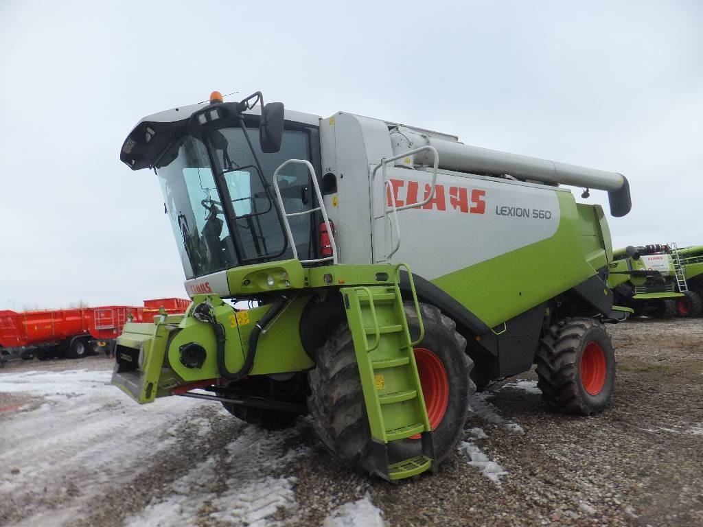 CLAAS Lexion 560, Leikkuupuimurit, Maatalouskoneet