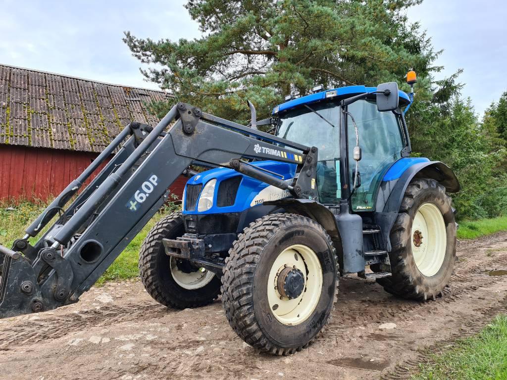 New Holland TS 135 A, Traktorid, Põllumajandus