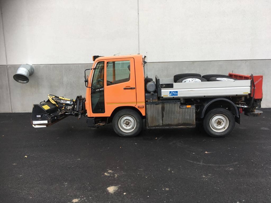 Multicar UX 100, Lava-kuorma-autot, Kuljetuskalusto