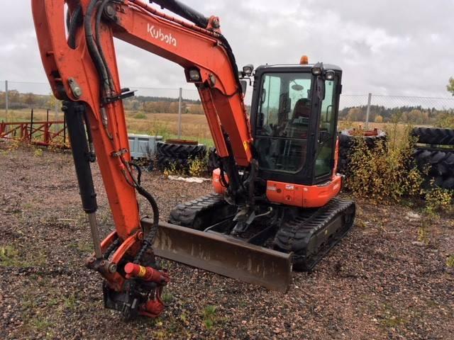 Kubota KX 057-4 KX 057-4 KGLS2F, Traktorit, Maatalouskoneet