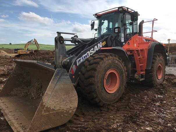 Doosan DL420 CVT-5, Wheel Loaders, Construction Equipment