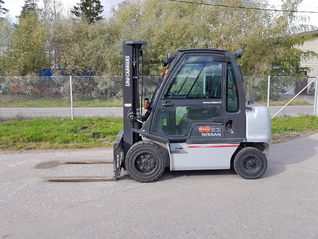 Nissan YG1D2A32Q, Diesel trucks, Material Handling