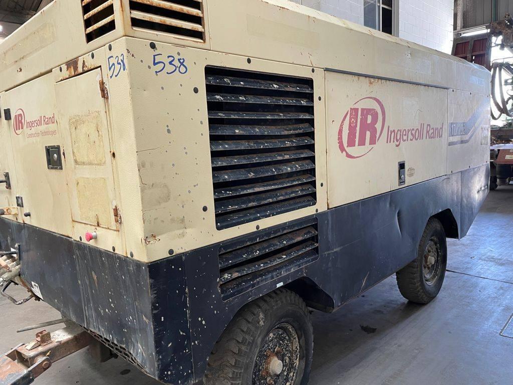 Ingersoll Rand 17/235, Compresores, Construcción