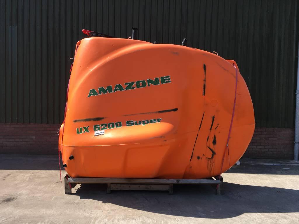 Amazone UX 6200 Tank, Getrokken spuitmachines, Landbouw