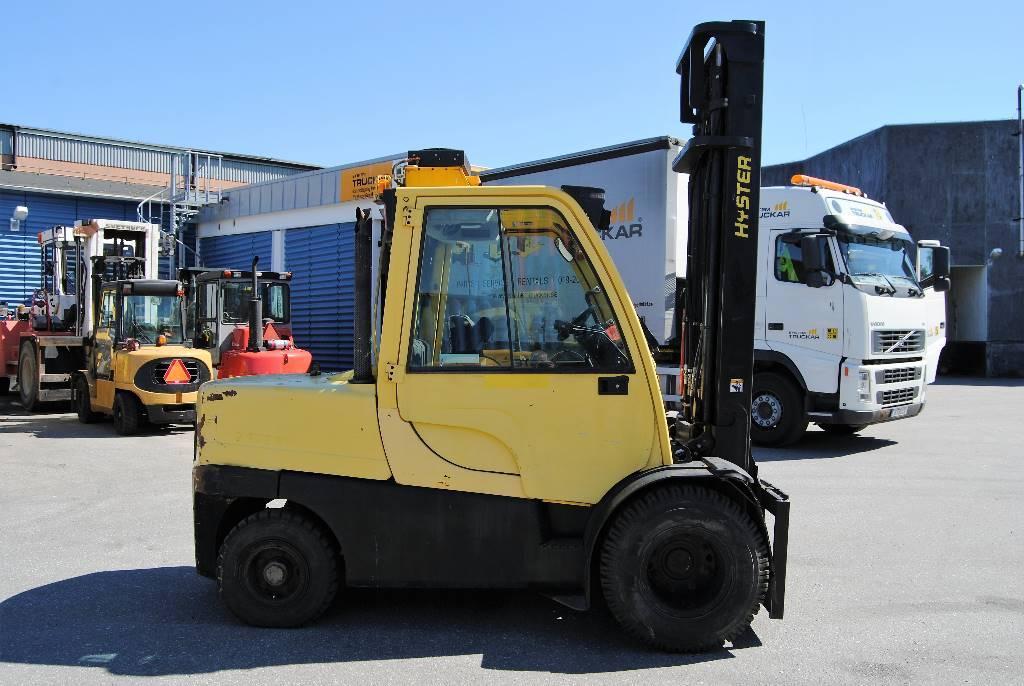 Hyster H5.5FT, Dieselmotviktstruckar, Materialhantering