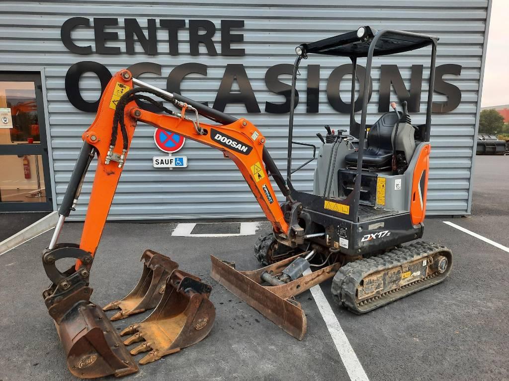 Doosan DX17z, Mini digger, Construction Equipment