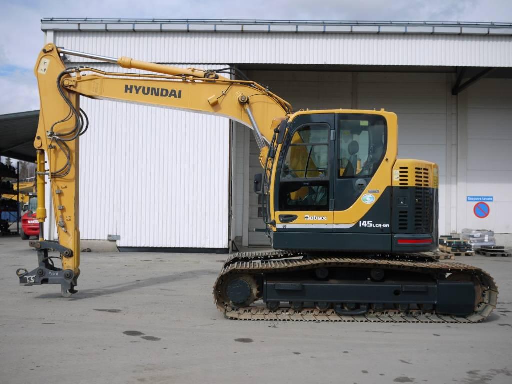 Hyundai R 145 LCR-9A, Telakaivukoneet, Maarakennus