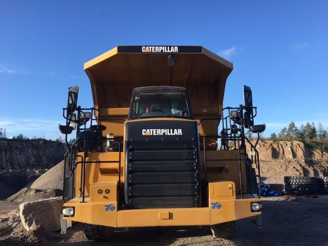 Caterpillar 770, Gruvtruck, Entreprenad