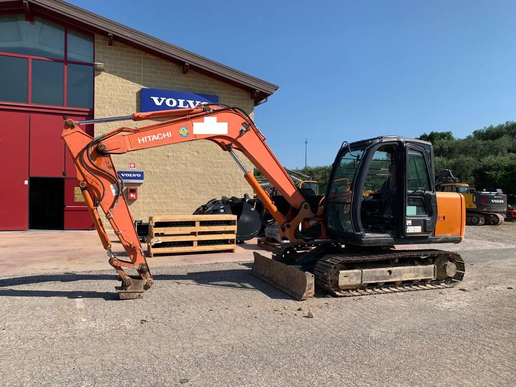 Hitachi ZX 80 SB, Mini excavators  7t - 12t, Construction Equipment