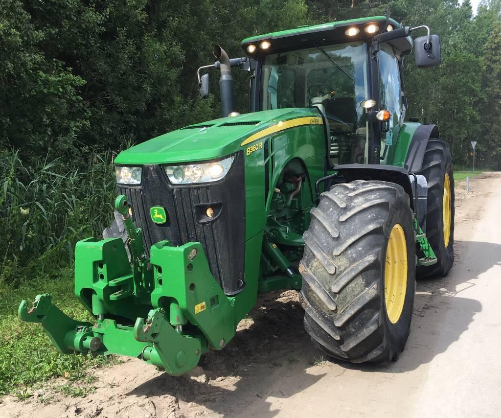 John Deere 8360 R, Traktorid, Põllumajandus