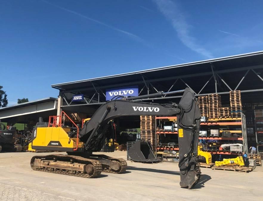 Volvo EC250ENL, Crawler Excavators, Construction Equipment