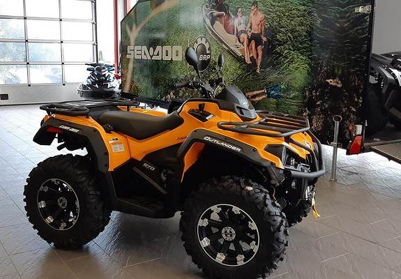 Can-am 570 max DPS ABS 105 km/t, ATV, Landbruk