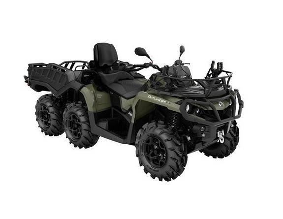 Can-am Outlander 650 60km/t, ATV, Landbruk